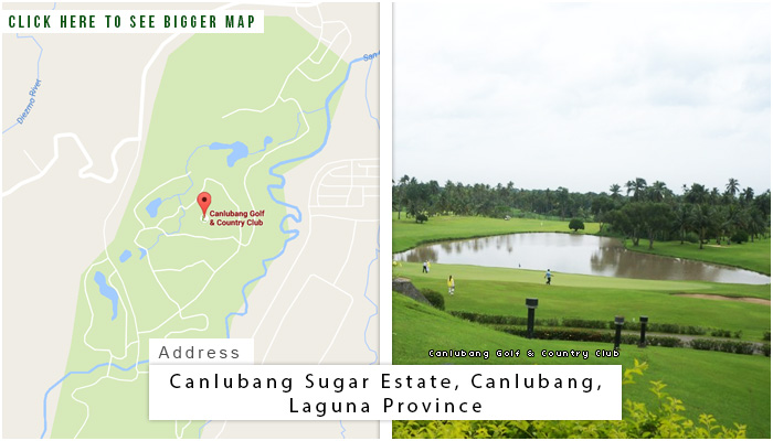 Canlubang Golf and Country Club Location, Map and Address