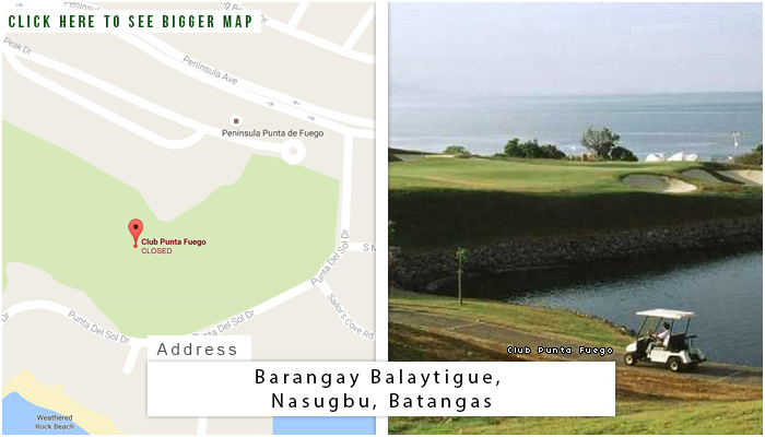 Club Punta Fuego Location, Map and Address