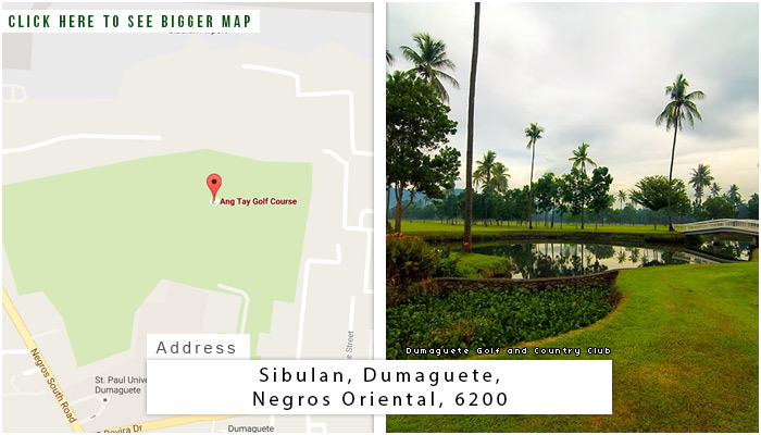 Dumaguete Golf and Country Club Location, Map and Address