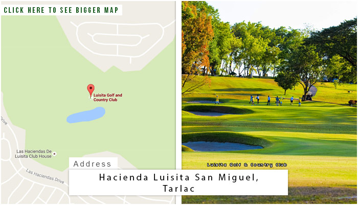 Luisita Golf and Country Club Location, Map and Address