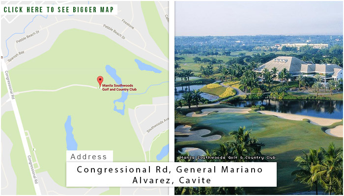 Manila Southwoods Golf and Country Club Location, Map and Address