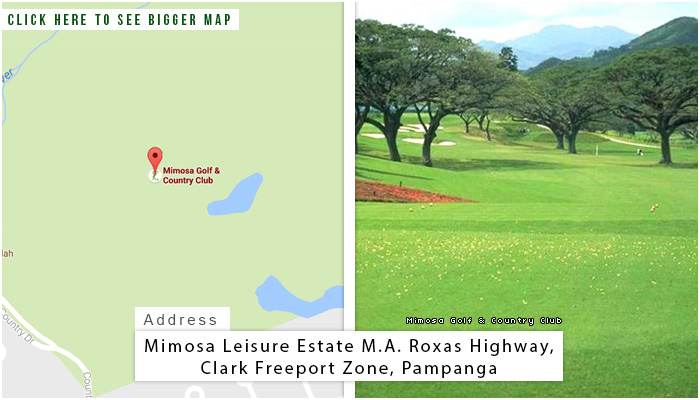 Mimosa Golf and Country Club Location, Map and Address