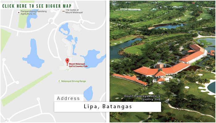 Mount Malarayat Golf and Country Club Location, Map and Address
