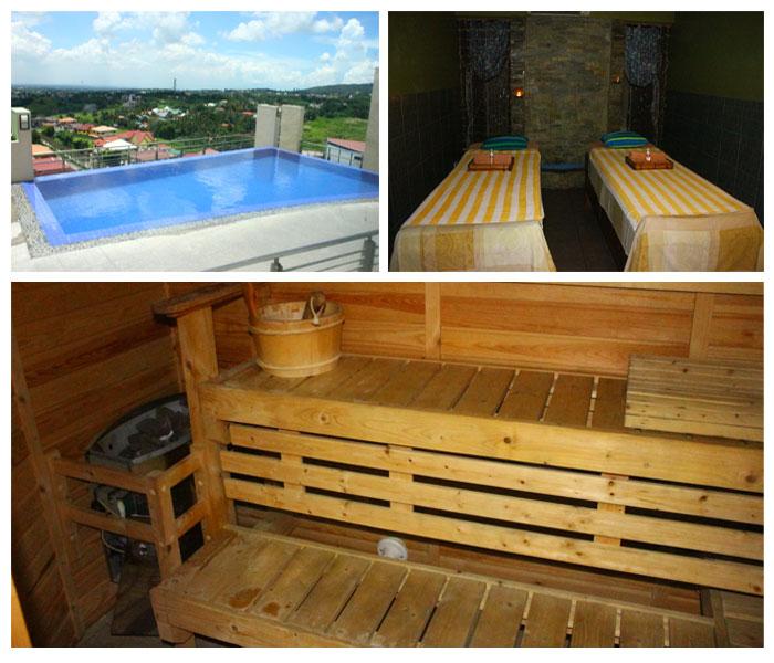 One Tagayatay Place swimming pools spa and sauna