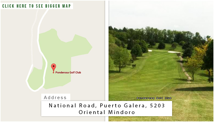 Ponderosa Golf Club Location, Map and Address