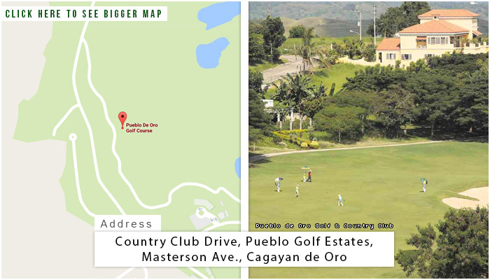 Pueblo De Oro Golf and Country Club Location, Map and Address