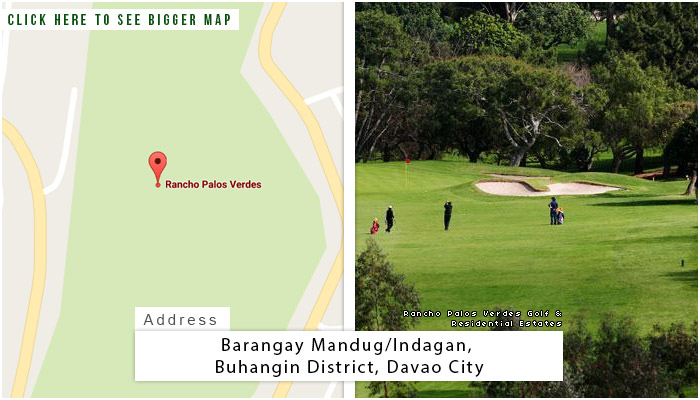 Rancho Palos Verdes Golf Location, Map and Address
