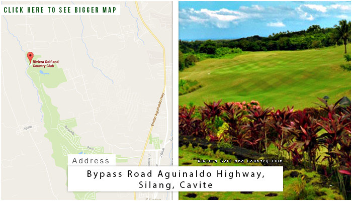 Riviera Golf Club Location, Map and Address