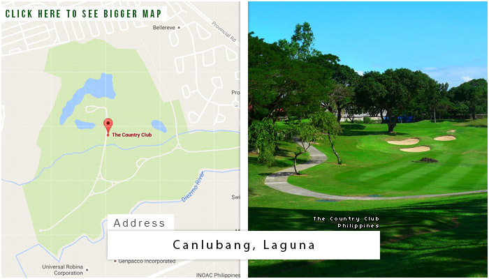 Country Club Philippines (The) Location, Map and Address