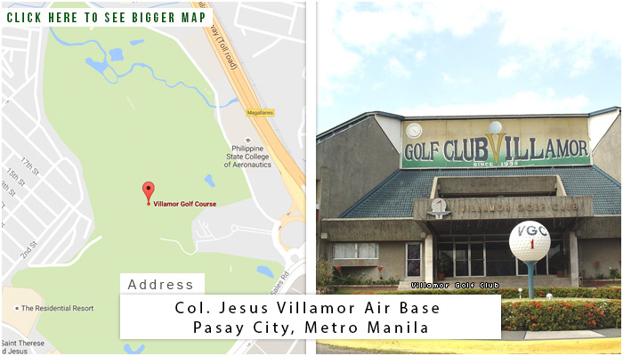 Villamor Golf Club Location, Map and Address