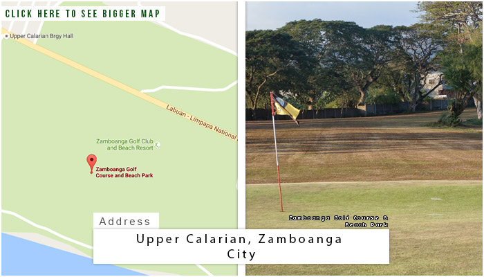 Zamboanga Golf Course and Beach Park Location, Map and Address