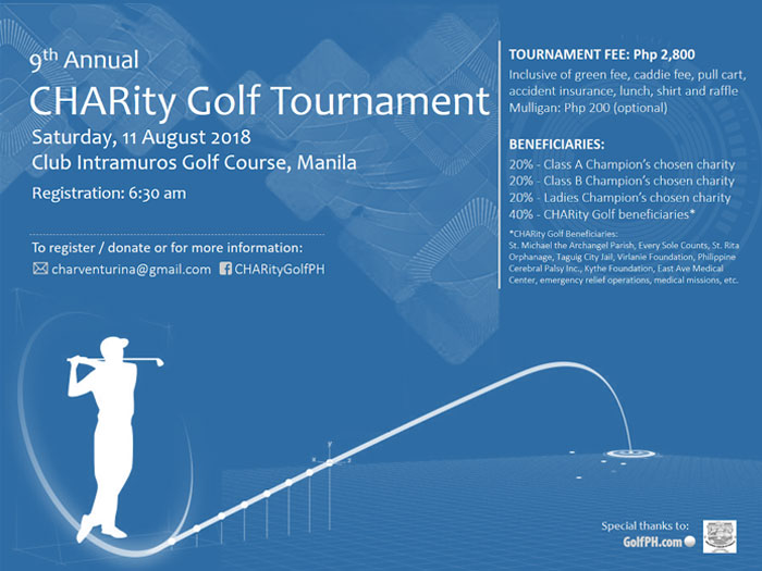 9th CHARity Golf Tournament