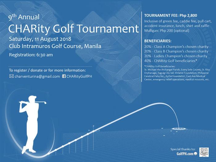 9th CHARity Golf Tournament