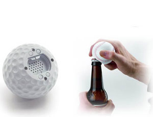 Talking Golf Ball Bottle Opener