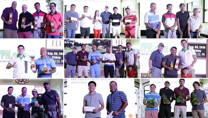 GolfPH Raffle Winners