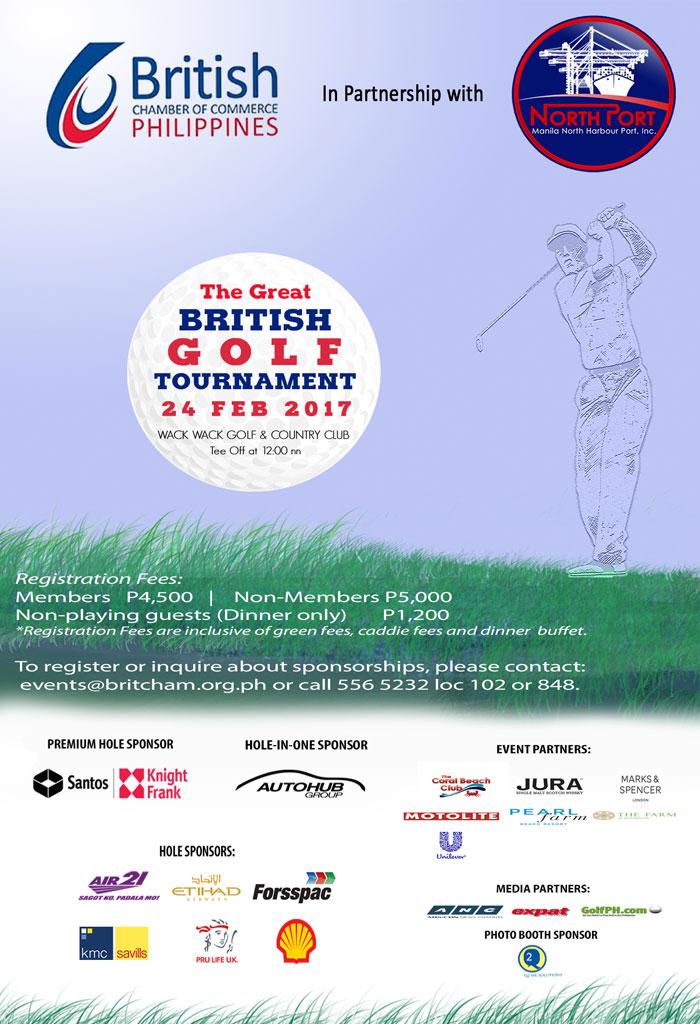 The Great British Golf Tournament