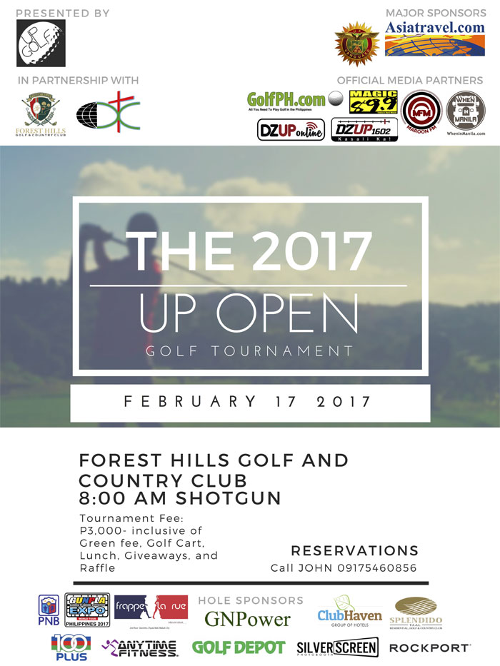 The 2017 up open banner