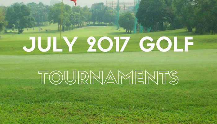 July 2017 Golf Tournaments