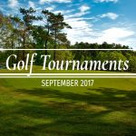 Upcoming Golf Tournaments in September 2017