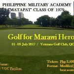 Golf For Our Marawi Heroes