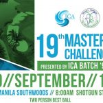 19th Edition of The Masters Challenge Golf Tournament All Set This September