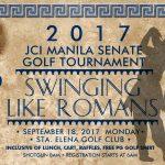 2017 JCI Manila Senate Golf Tournament