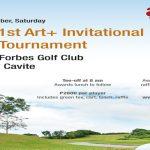 Join the 1st Art+ Invitational Golf Tournament