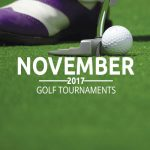 Upcoming Golf Tournaments in November 2017
