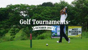 October golf tournament